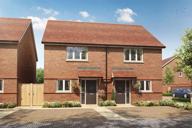 Thumbnail End terrace house for sale in Montague Place, Keens Lane, Guildford, Surrey