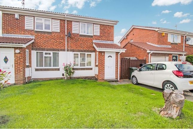 2 bed semi-detached house to rent in Peldon Close, High Heaton, Newcastle Upon Tyne NE7