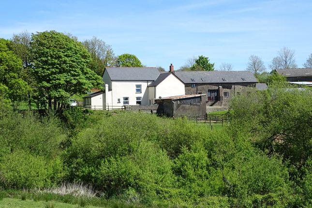 Thumbnail Farmhouse for sale in Kings Nympton, Umberleigh, Devon