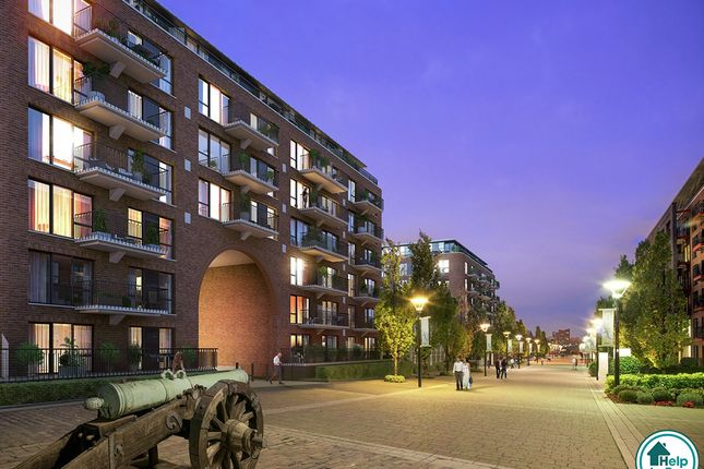 Thumbnail Flat for sale in Pavilion Square, Royal Arsenal Riverside, Woolwich, London
