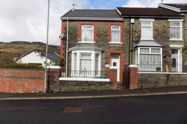 3 bed end terrace house for sale in Cemetery Road, Treorchy, Rhondda Cynon Taff. CF42