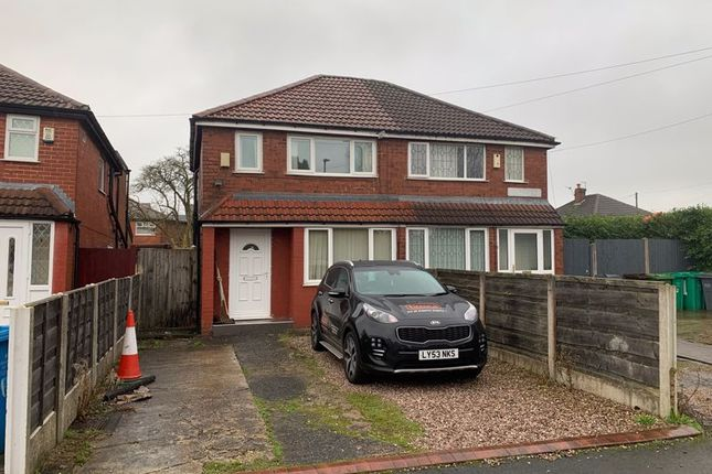 Thumbnail Semi-detached house to rent in Annable Road, Manchester