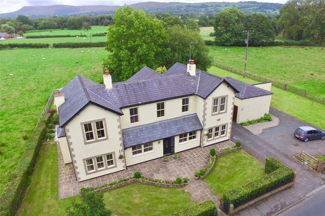Thumbnail Detached house for sale in Mitton Road, Whalley, Clitheroe, Lancashire