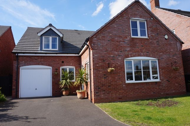 Thumbnail Detached house for sale in Cornforth Close, Trinity Road, Kingsbury, Tamworth