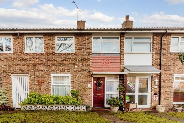 Thumbnail Terraced house for sale in Chertsey Rise, Stevenage, Hertfordshire, England