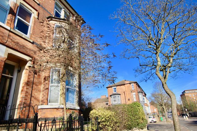 Thumbnail End terrace house to rent in Woodborough Road, Mapperley, Nottingham