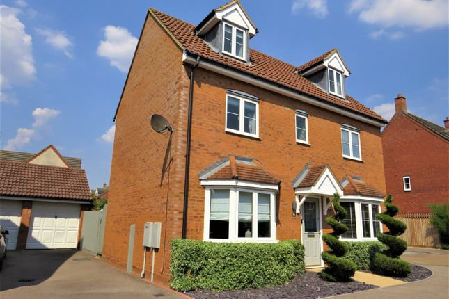 4 bed detached house for sale in Foxholes Close, Deanshanger, Milton Keynes MK19