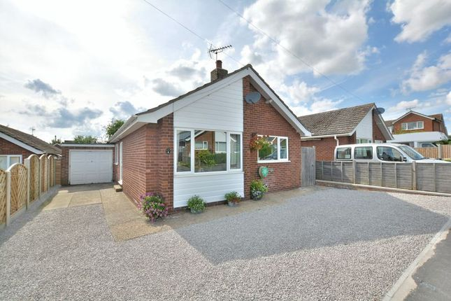 Thumbnail Detached bungalow for sale in Sycamore Close, Cherry Willingham, Lincoln