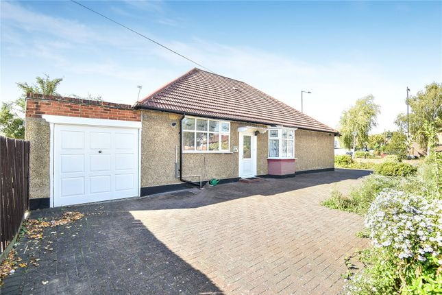 Thumbnail Detached bungalow for sale in Woodcock Dell Avenue, Harrow, Middlesex