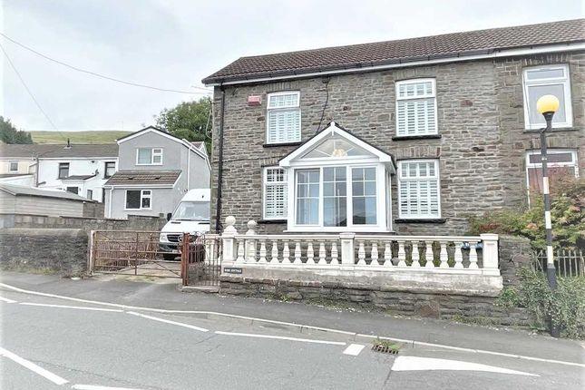 Thumbnail Semi-detached house for sale in Meyricks Row, Penrhiwfer, Tonypandy