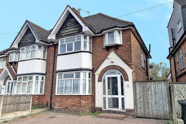 3 bed semi-detached house for sale in Stockfield Road, Yardley, Birmingham B25