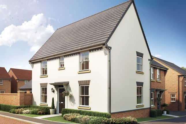 "Thumbnail Detached house for sale in ""Hadley"" at Trowbridge Road, Westbury"