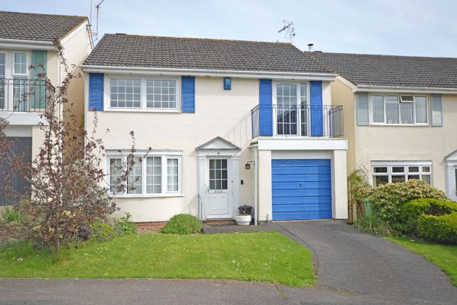 Thumbnail Detached house for sale in Culverland Close, Exeter