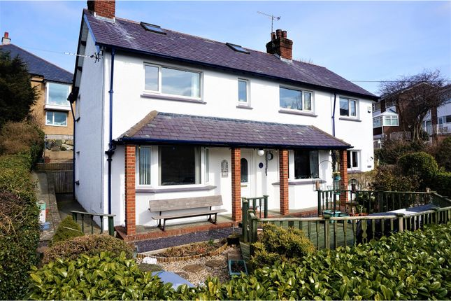 Thumbnail Detached house for sale in Bryn Road, Llanfairfechan
