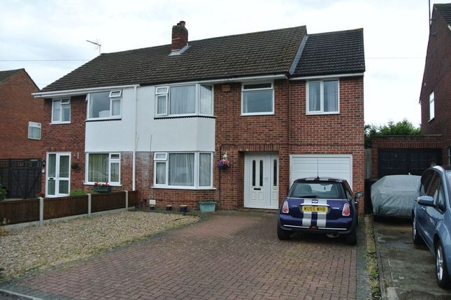 Thumbnail Semi-detached house for sale in Paddock Gardens, Longlevens, Gloucester