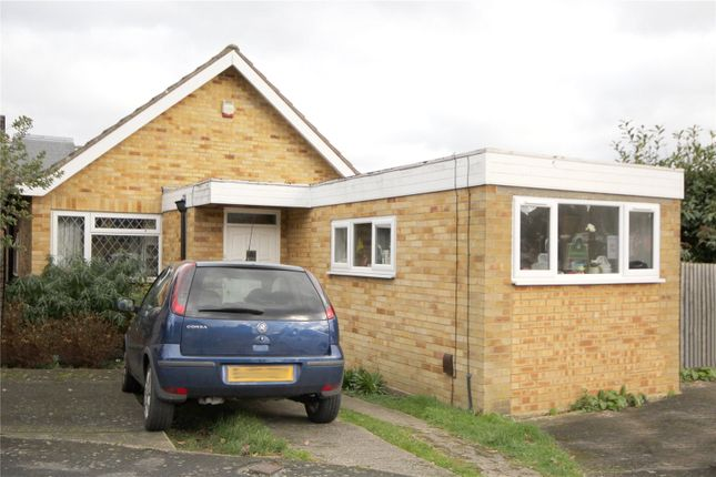 Thumbnail Detached bungalow to rent in Falaise, Egham, Surrey