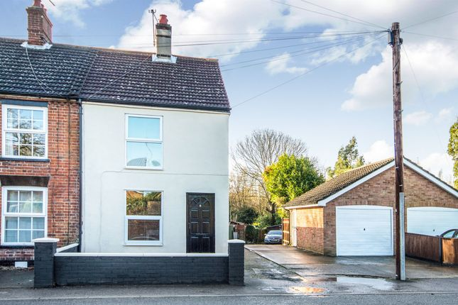 Thumbnail End terrace house for sale in Main Road, Rollesby, Great Yarmouth