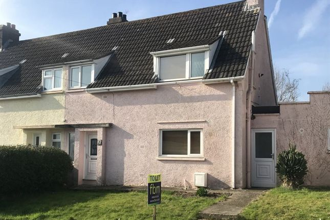Thumbnail Semi-detached house to rent in The Glebe, Tenby, Pembrokeshire