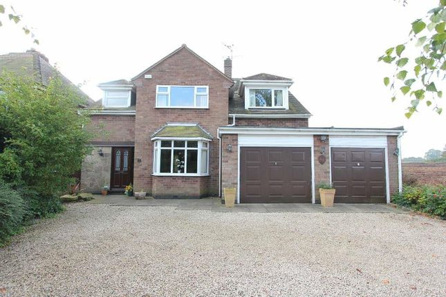 Thumbnail Detached house for sale in Hinckley Road, Sapcote, Leicester