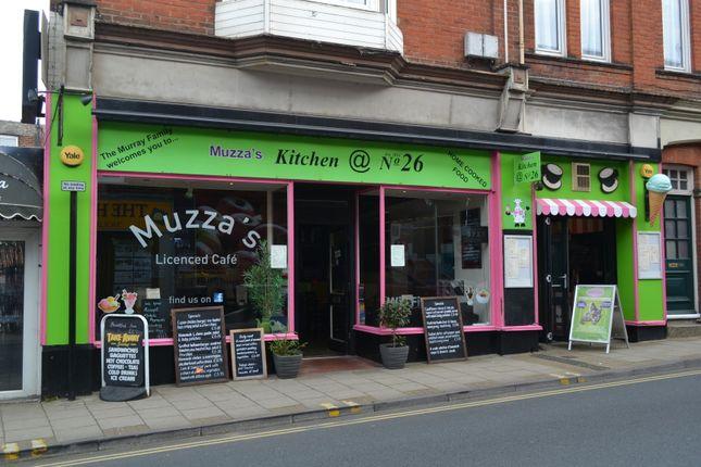 Thumbnail Restaurant/cafe for sale in 26 High Street, Sandown