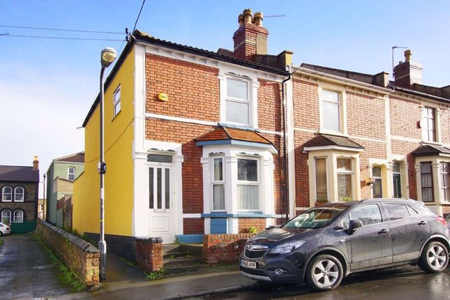Thumbnail End terrace house for sale in Seneca Street, Bristol