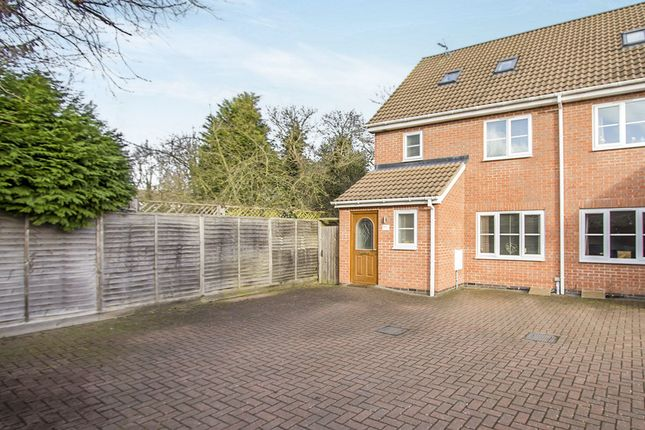 Thumbnail Semi-detached house for sale in Phillip Drive, Glen Parva, Leicester