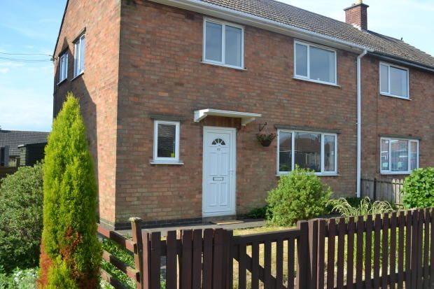 Thumbnail Semi-detached house to rent in Oak Road, Desford
