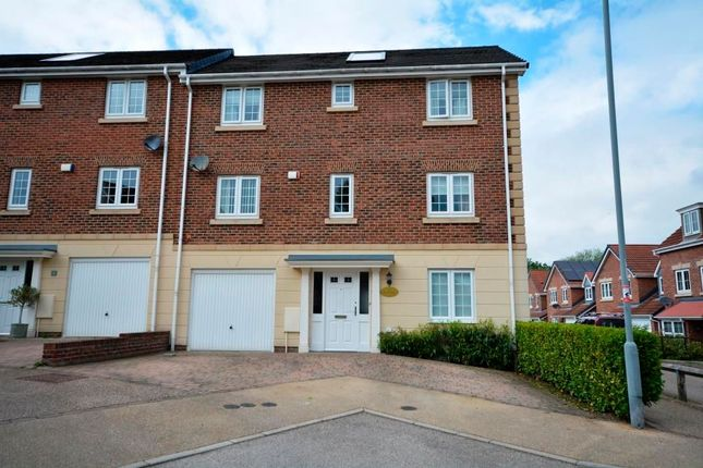 Thumbnail Town house for sale in Birch View, Chester Le Street