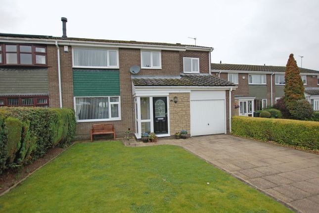 Thumbnail Semi-detached house for sale in Bracken Close, Dinnington, Newcastle Upon Tyne
