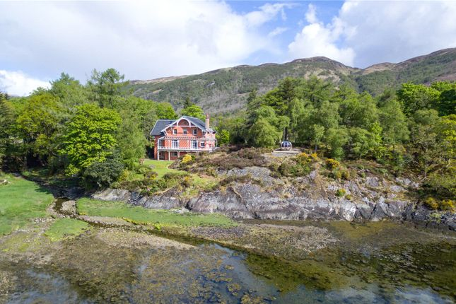 Thumbnail Detached house for sale in Dunbeg House & Bishop's Bay Cottage, North Ballachulish, Onich, Fort William