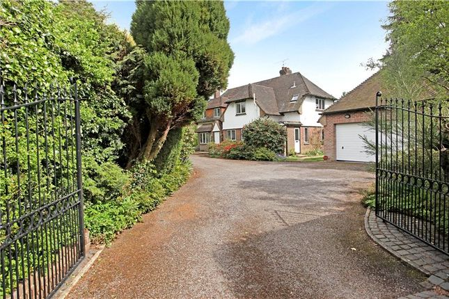 4 bed detached house for sale in Priorsfield Road, Hurtmore, Godalming, Surrey