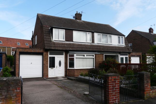 Thumbnail Semi-detached house for sale in Ladywell Road, Tweedmouth, Berwick Upon Tweed, Northumberland