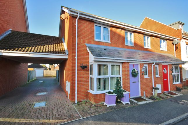 Thumbnail Semi-detached house for sale in Peake Avenue, Kirby Cross, Frinton-On-Sea