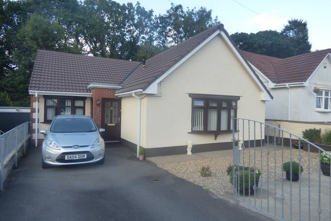 Thumbnail Detached bungalow for sale in Afan Valley Close, Cimla, Neath .