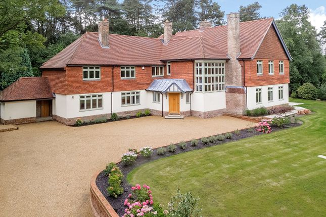 Thumbnail Detached house to rent in Hindhead Road, Hindhead, Surrey