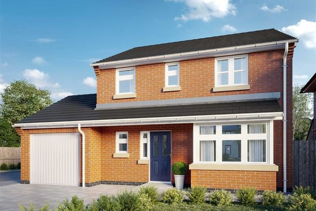 Thumbnail Detached house for sale in Hayfield Close, Glenfield, Leicester