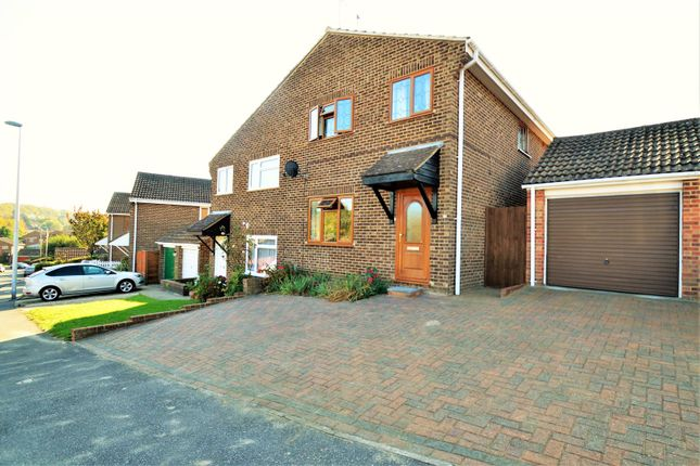 Thumbnail Semi-detached house for sale in Pine Grove, Hempstead, Gillingham
