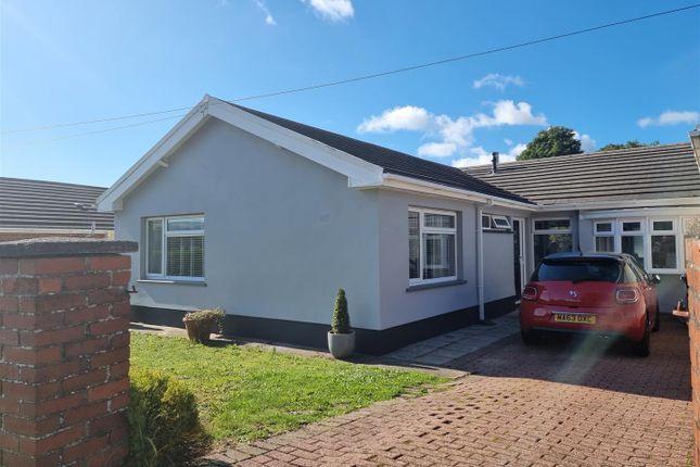 Thumbnail Semi-detached bungalow for sale in Dwr Y Felin Road, Wauncerich, Neath