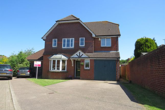 Thumbnail Detached house for sale in Pepper Drive, Burgess Hill