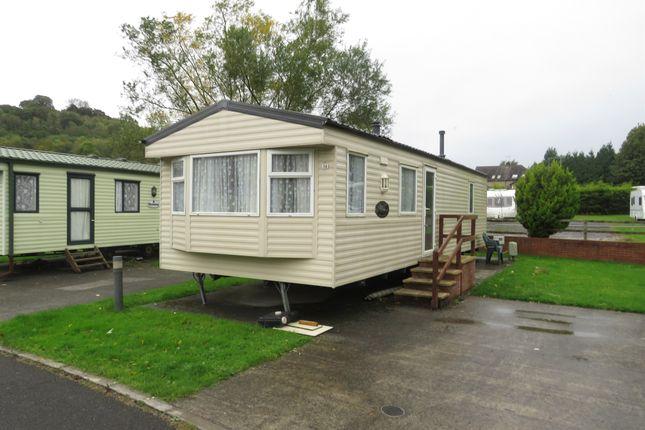 Thumbnail Mobile/park home for sale in Lemonford Caravan Park, Bickington, Newton Abbot