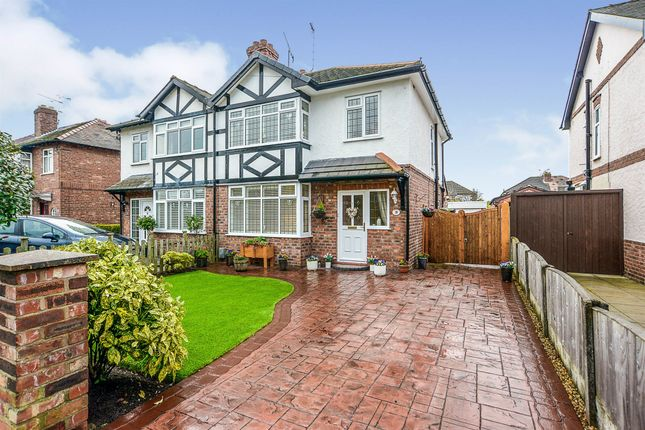 Thumbnail Semi-detached house for sale in Long Lane, Chester