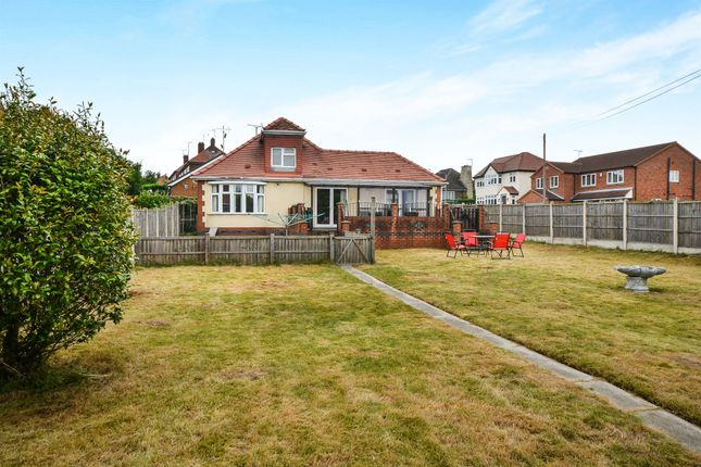 Thumbnail Detached bungalow for sale in Sherwood Street, Warsop, Mansfield
