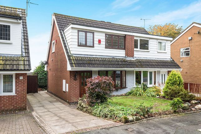 Thumbnail Semi-detached house for sale in Orwell Drive, Parkhall, Stoke-On-Trent