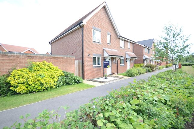 3 bed semi-detached house for sale in Elk Path, Three Mile Cross, Reading