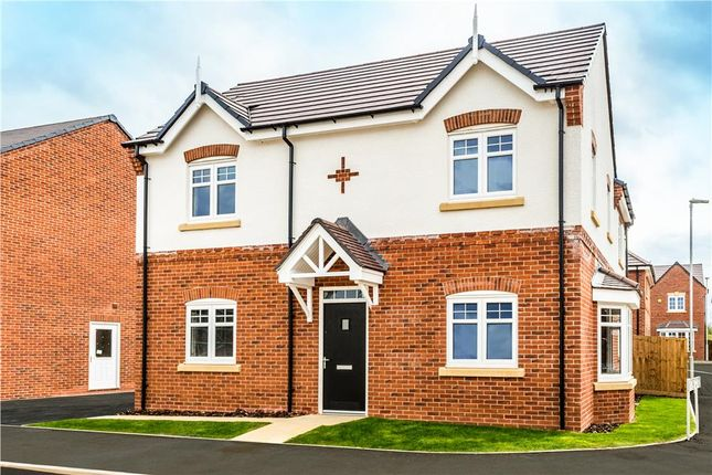 "Thumbnail Detached house for sale in ""Darley"" at Warwick Road, Kibworth, Leicester"