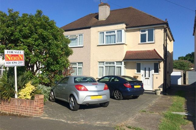 3 bed semi-detached house for sale in Daleside Road, West Ewell, Epsom