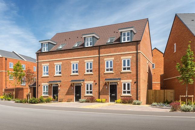 "Thumbnail Terraced house for sale in ""Dunford"" at Racecourse Road, Newbury"