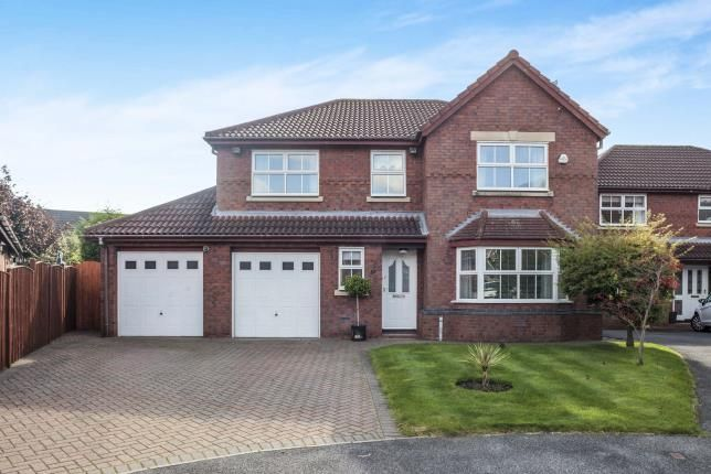 Thumbnail Detached house for sale in Sandstone Close, Rainhill, Prescot, Merseyside