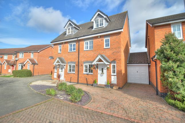 Thumbnail Semi-detached house for sale in Pickering Way, Stapeley, Nantwich