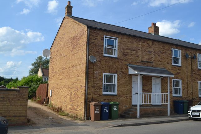 Thumbnail End terrace house to rent in Huntingdon Road, Chatteris